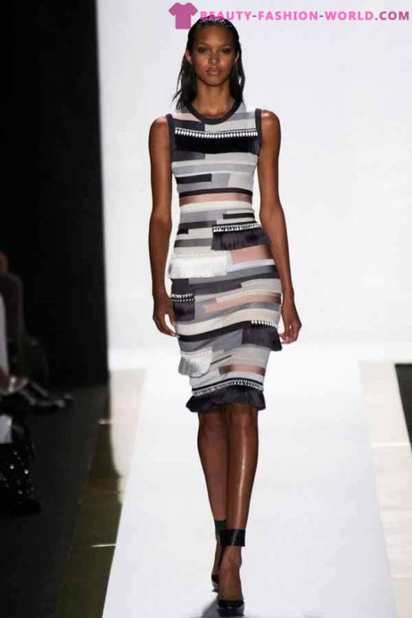 Dress Herve Leger af Max Azria Spring-Summer 2014