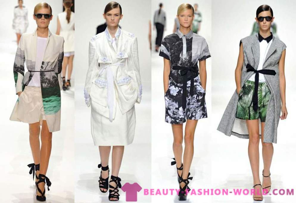Dries Van Noten samling Spring-Summer 2012 Ready-to-wear